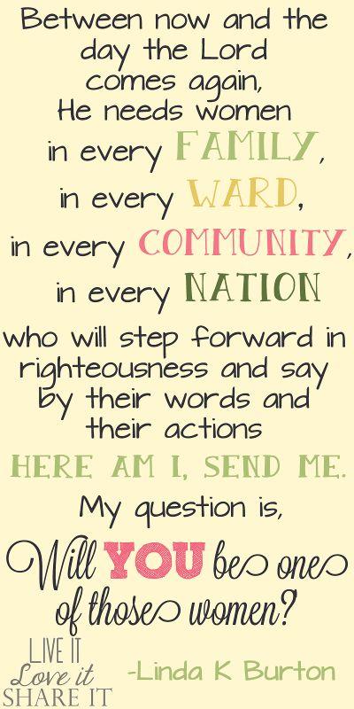 Will you be one of those women? #LiveitLoveitShareit #ShareGoodness