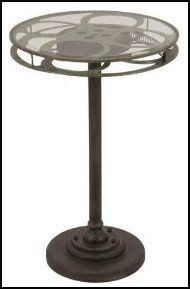 I think I'm going to do a movie theater room theme.....this would be a cute night stand!