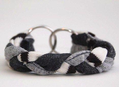 DIY BTB 08 DIY of the Month: Braided T shirt Bracelet