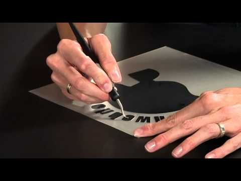 Silhouette heat transfer - best one I've watched yet!  No talking, just demonstration and it's great!