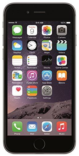 Apple iPhone 6 64GB Factory Unlocked GSM 4G LTE Smartphone, Space Gray (Certified Refurbished)