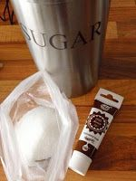 Droomkoekjes: Gekleurde suiker