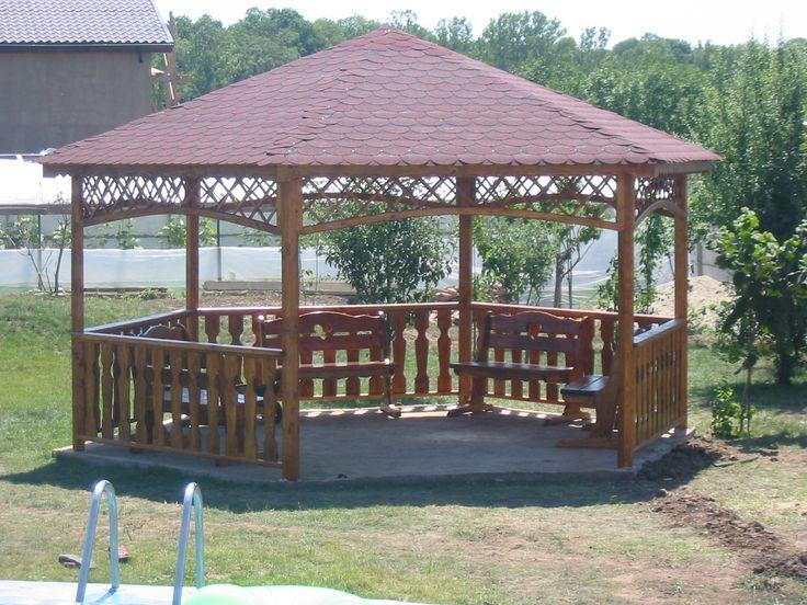 Resultado de imagen para kioscos en madera kioscos for Kiosco de madera para jardin