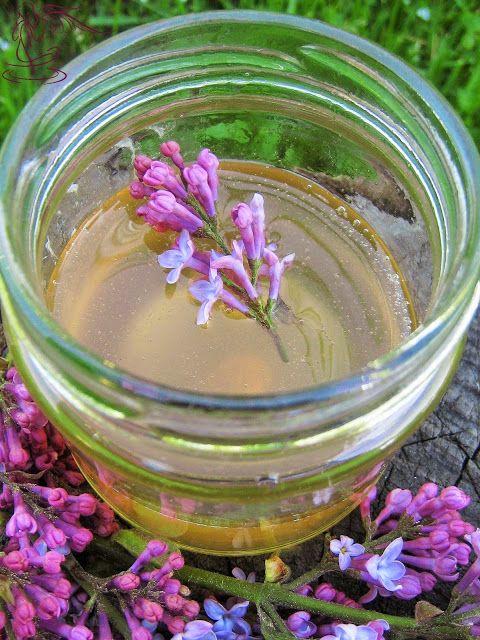 Niezłe Ziółko: Lilakowy miodek do lilakowej herbatki