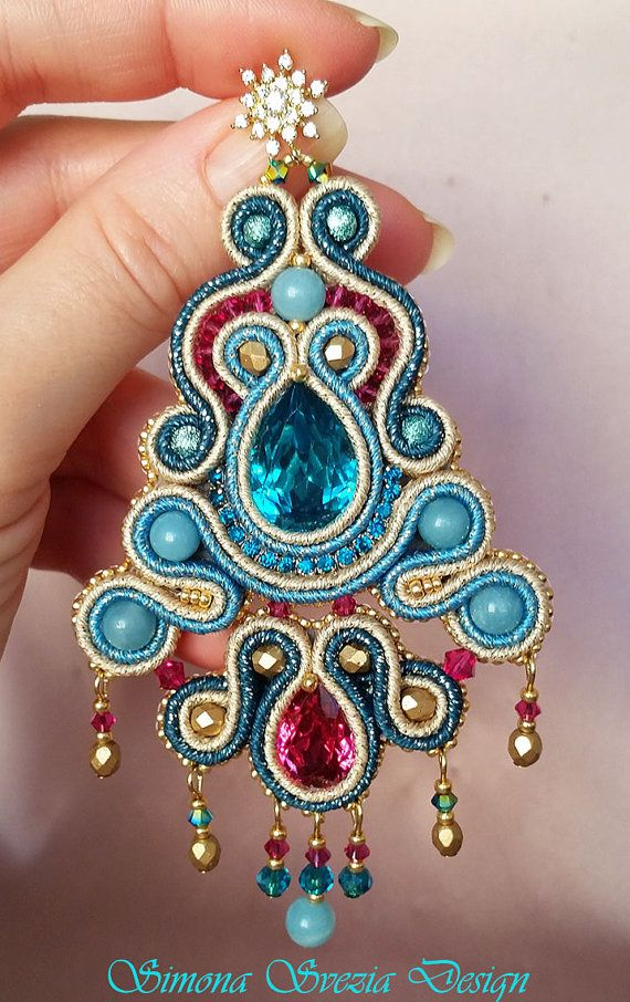 Soutache earrings / Orecchini soutache