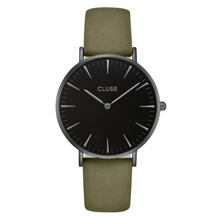 CLUSE La Bohème Full Black/Olive Green CL18502