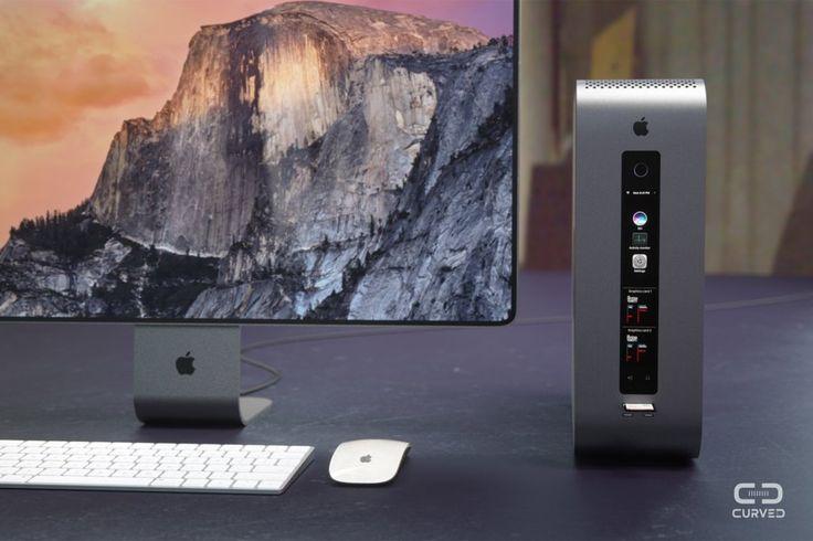 Curved konzipiert einen modularen Mac Pro  Seit drei Jahren wartet die Apple-Fangemeinde auf eine Runderneuerung des Mac Pro – eine ganz schön lange Zeit, angesichts der schnellen Generati...