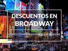 ¿Musicales y espectáculos de Broadway con descuento? Apúntate estos trucos para comprar entradas rebajadas