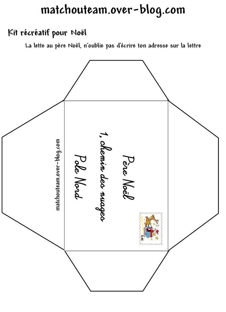 Épinglé par Bookin Alex sur Noël   Pere noel, Lettre pere ...
