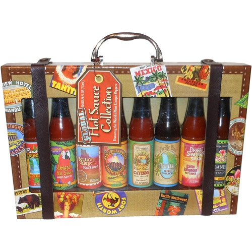 Global Hot Sauce Collection 24 Fl Oz Gift Sets Sauces
