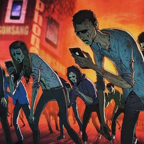 #mobile #mobileslaves #future #iphone #zombie