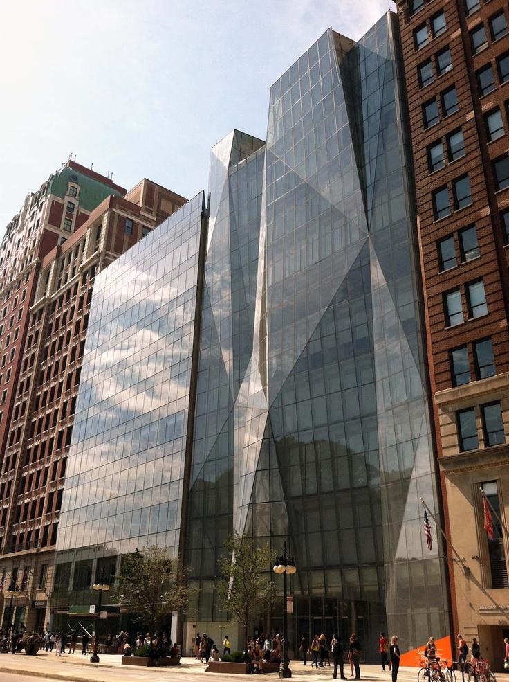 facade of spertus institute by krueck & sexton