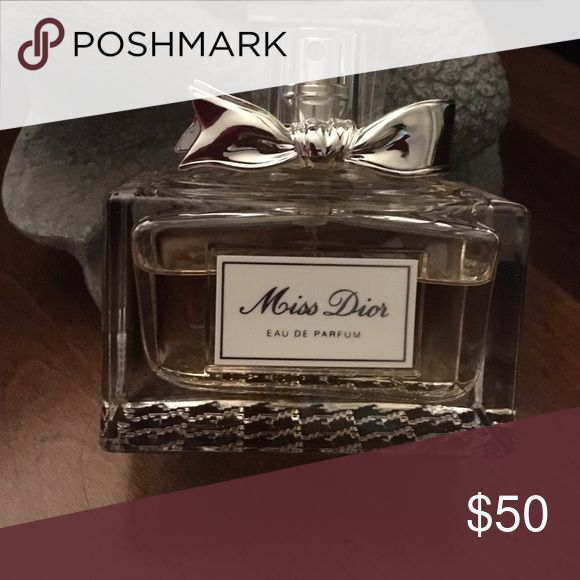Miss Dior perfume ✨✨ GREAT DISCOUNTED PRICE✨🎉🎁Brand new w/out box. I bought it but the fragrance is not my style.  I did spray it once as you can see by the amount left in the decorative bottle.  This would make a very nice gift for someone special or just a gift for yourself for all the hard work you do all year!💝🎁✨🎉 Miss Dior Accessories