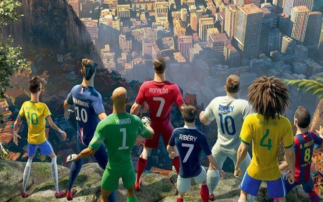 "Nike lo spot rivoluzionario ""The Last Game"" #nike #pubblicita #ronaldo #neymar #rooney"