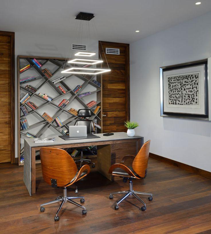 Atrium House home office