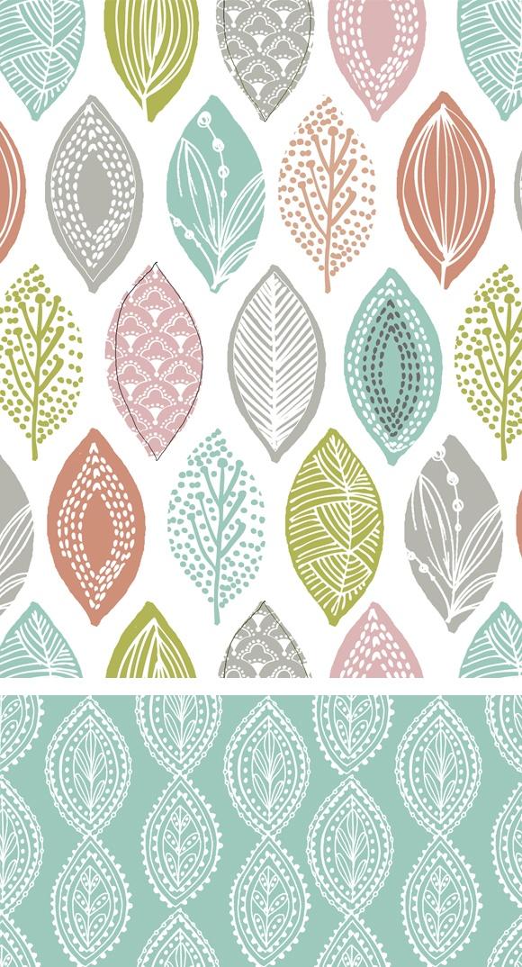 wendy kendall designs – freelance surface pattern designer » leaf pod