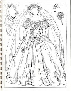 Miss Missy Paper Dolls: Charles Ventura brides 1860