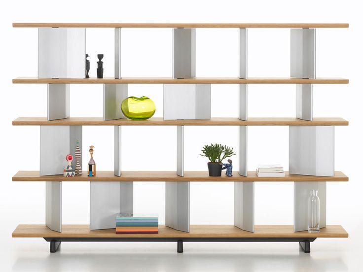 Buy the Vitra Planophore Wide Bookshelf High at Nest.co.uk