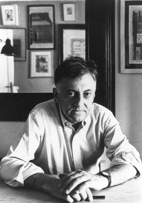 ALDO ROSSI....architect.. .....5/3/1931--9/4/1997. He received international recognition in theory, drawing, architecture and product design. ..He was born in Milan, Italy #arquitectura #arquitectos #aldo rossi