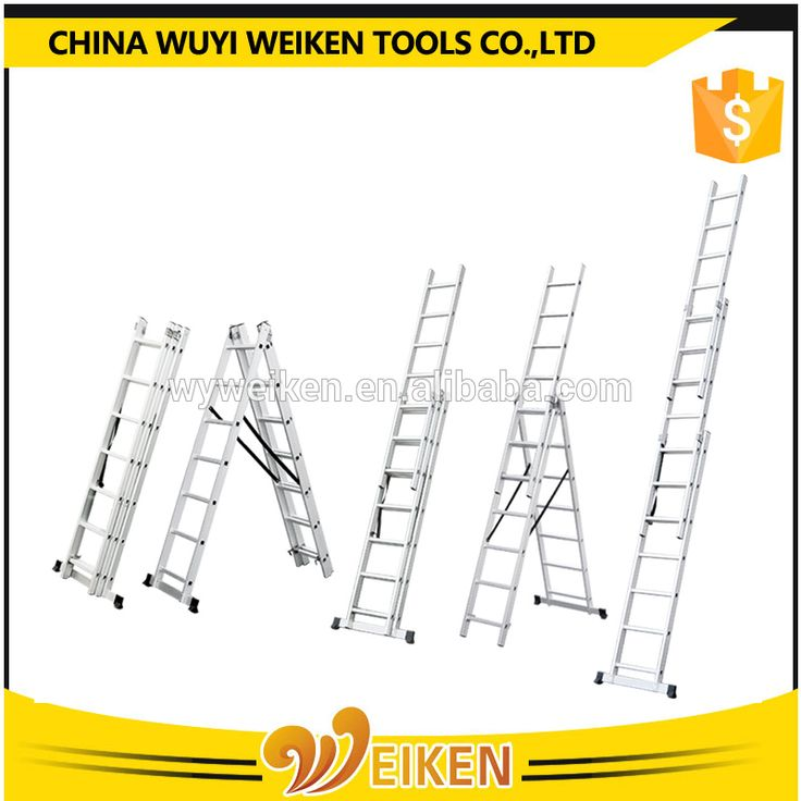 new compact extension Aluminum Ladder /folding chair parts/outdoor stair steps lowes/rubber feet