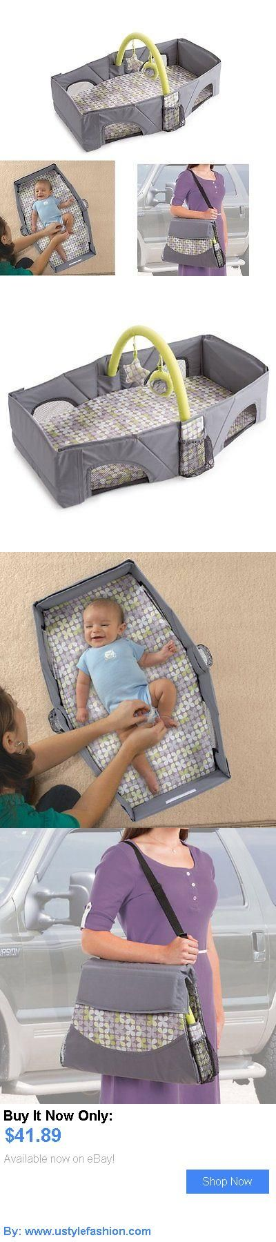 Bassinets And Cradles: Foldable Travel Bassinet Bed Crib Playpen Diaper Changer Infant Nursery Sleeper BUY IT NOW ONLY: $41.89 #ustylefashionBassinetsAndCradles OR #ustylefashion