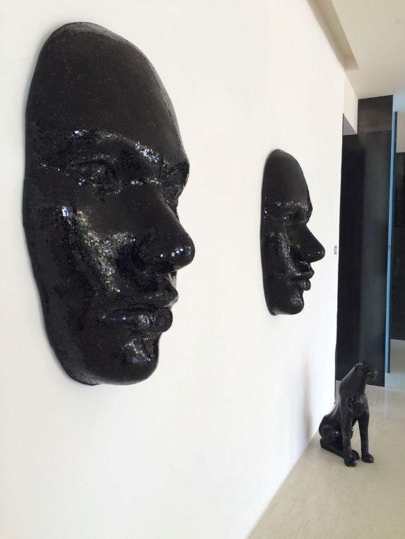 Pretty cool modern artwork at Hotel Fuerte Miramar