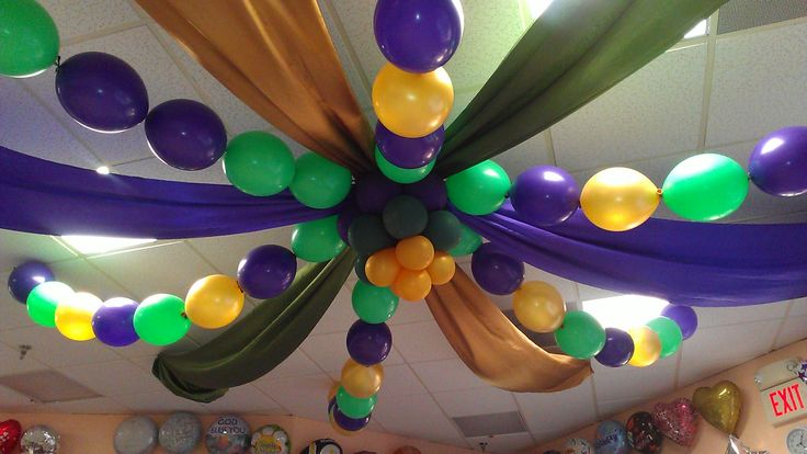 Mardi Gras Ceiling Decor