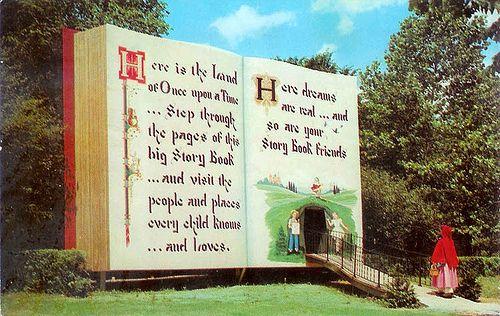 Story Book Forest - Ligonier, Pennsylvania by Vintage Roadside, via Flickr
