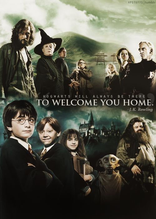 Hogwarts will always be there.