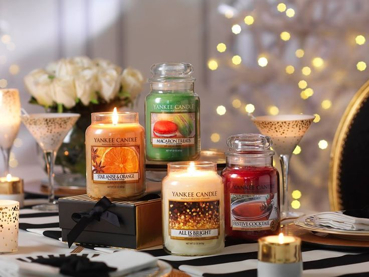 The new Winter Fragrances from Yankee Candle are available at Aroma Plaza on our second floor!