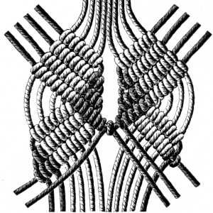 Encyclopedia of needlework:  macrame