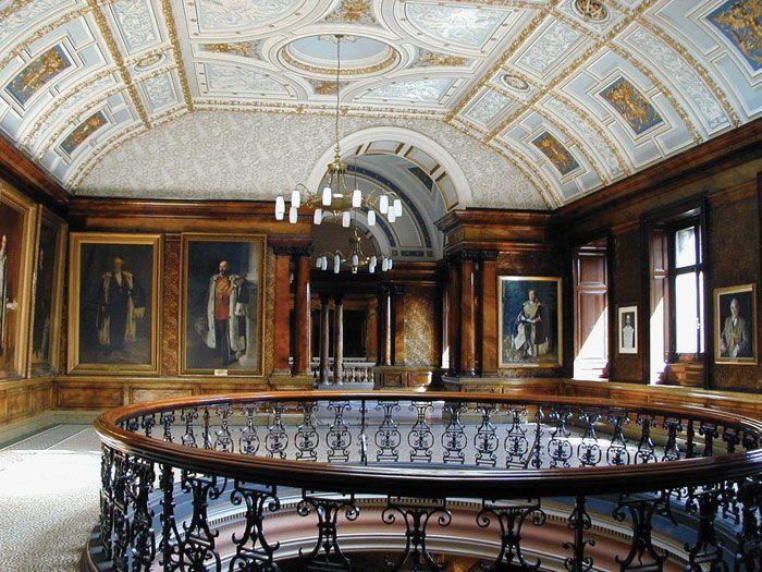 Glasgow City Chambers, Glasgow City Centre - interior.