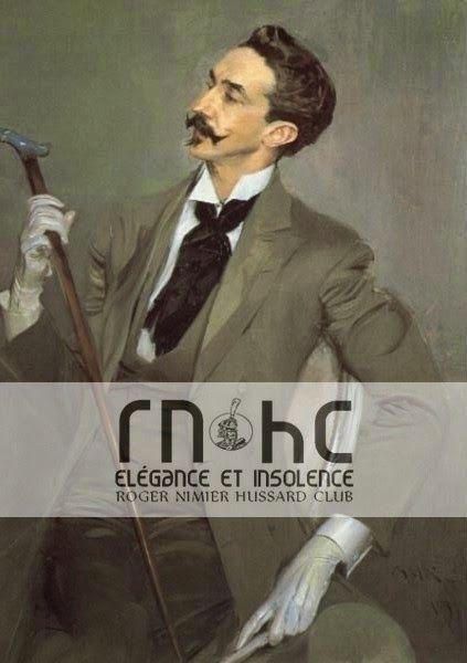 Roger Nimier Hussard Club: Dans mes dégoûts surtout, j'ai des goûts élégants. Tristan Corbière