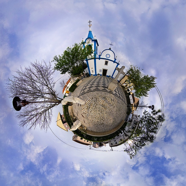 Little Planet of Campelos  #stereographicprojection  #panorama  #portugal