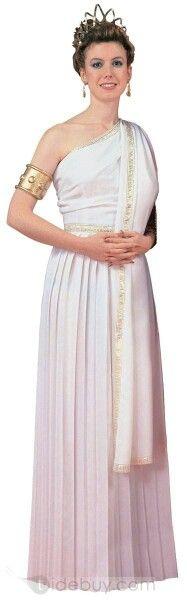 Vestido romano blanco