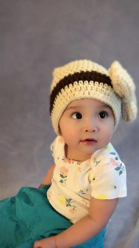 Cloche Hat With Cream Ribbon by Maviwavie on Etsy