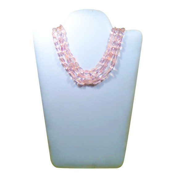 Semi Precious Multi 8 /'/' Faceted Pear Gemstone necklace 8 x 9 To 15 x 16 MM