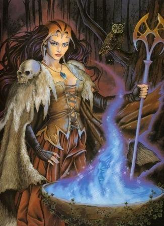 Le monde des Fées, des Comtes de Bretagne - Posté par francesca - Morgane, de la lumière à l'ombre