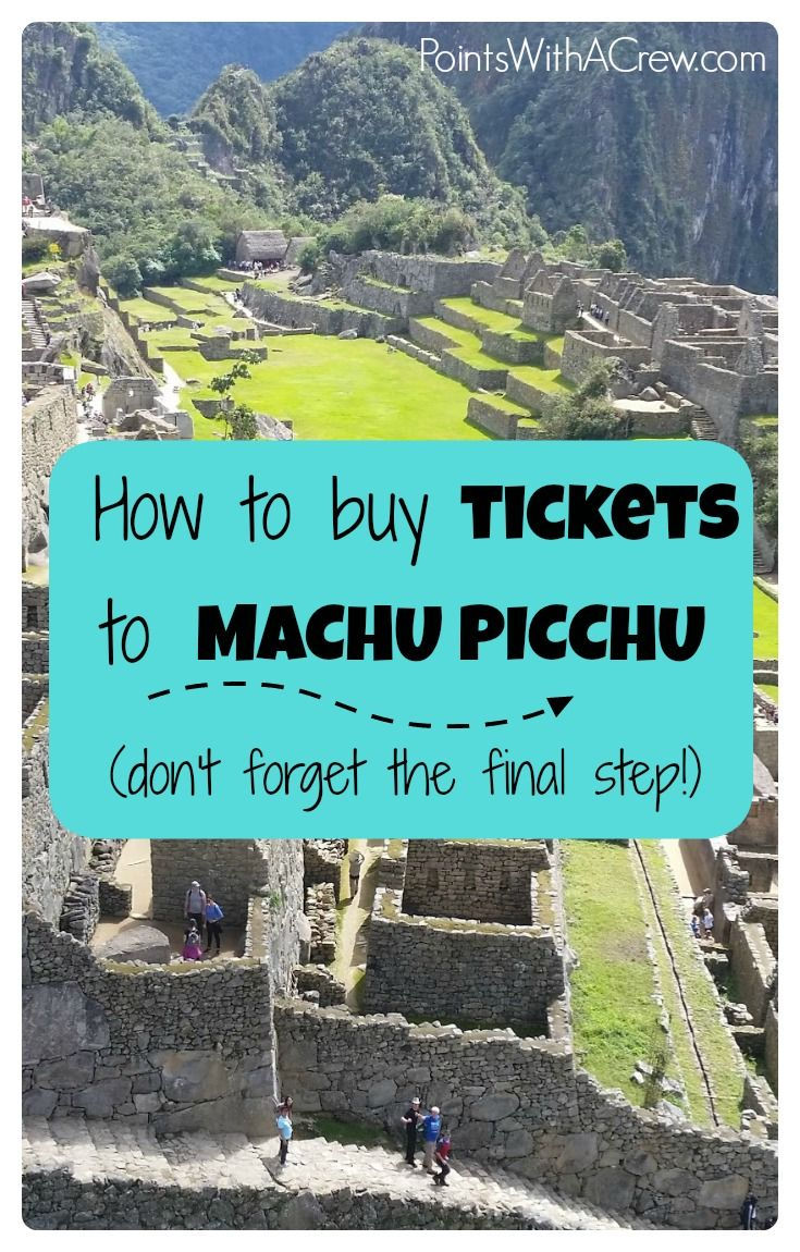 Buying tickets to Machu Picchu involves navigating a website in Spanish that isn't laid out well. Here is a step by step guide to help buy Machu Picchu tickets (with pics!)