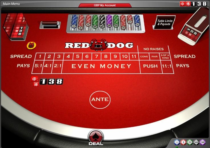 """Red Dog - Also known as """"Between the Sheets"""". #online #casino #cards #games #138.com"""