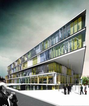 Gabriel verd arquitectos edificio de oficinas en dos for Oficina electronica dos hermanas