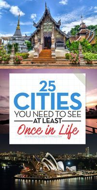 Experts of the world�s largest website for travelers Trip Advisor ranked the 25 cities that most highly appreciated by tourists from all over the world. And the city that ranked first surprised even the authors of the list. If you still don�t have any vac
