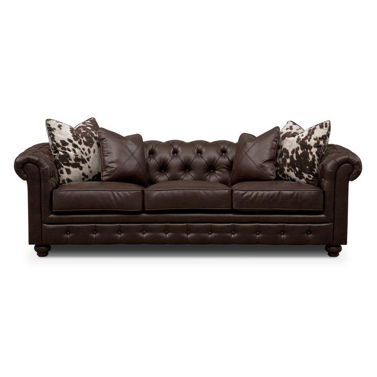 Madeline Ii Leather Sofa Value City Furniture Living