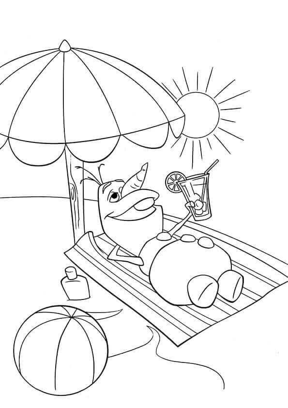 36 Free Printable Summer Coloring Pages Frozen Coloring Pages