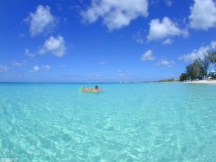 Grand Cayman- this water is so clear it looks like a swimming pool!
