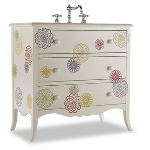 Cole And Co Avery White Hand Painted Bathroom Vanity 11 22 275532 32
