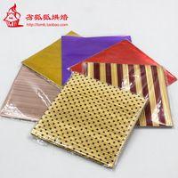 Ручной работы шоколад multicolour упаковки алюминиевая фольга бумаги 10 * 10 см