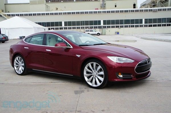 The Tesla S electric car. 300 mile range and can plug into a regular outlet. This needs to be SAMs next car. Available fall 2012.