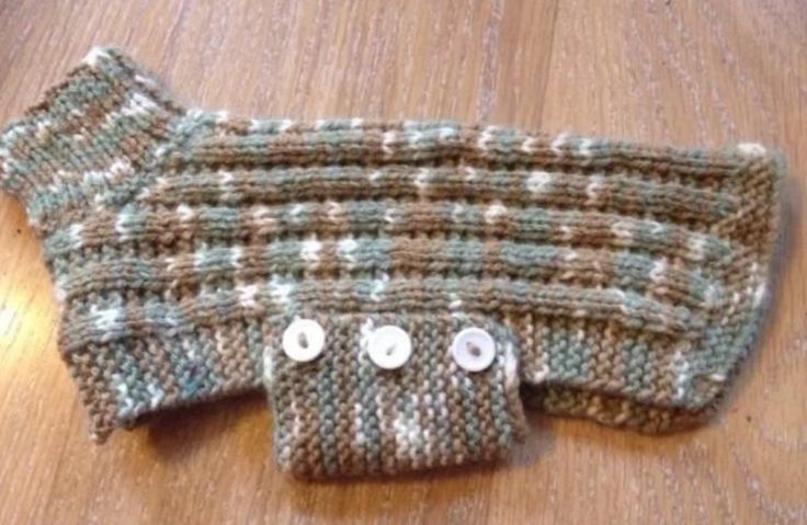 Новый ручной вязки крошечная маленькая собака щенок свитер с PlushPooches