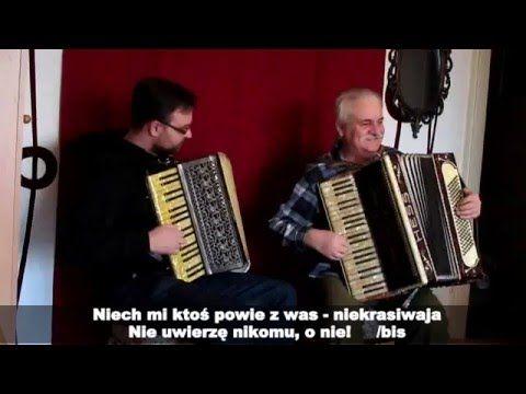 "Jestem brzydka, ja wiem - niekrasiwaja ""Называют меня некрасивою"" / duet akordeonowy - YouTube"
